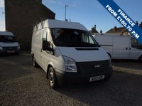 2013 FORD TRANSIT 100T 280 2.2TDCi SWB MEDIUM ROOF VAN WITH ROOF RACK AND POWER INVERTER £6995.00