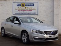 USED 2014 14 VOLVO S60 1.6 D2 BUSINESS EDITION 4d 113 BHP Full History SAT-NAV Bluetooth 0% Deposit Finance Available