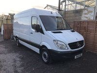 USED 2011 61 MERCEDES-BENZ SPRINTER 2.1 313 CDI MWB 129 BHP