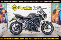 USED 2007 07 TRIUMPH SPEED TRIPLE 1050  GOOD & BAD CREDIT ACCEPTED, OVER 500+ BIKES IN STOCK