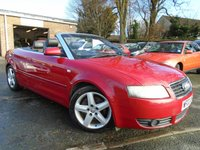 USED 2002 02 AUDI A4 2.4 SPORT 2d 168 BHP GREAT SERVICE HISTORY WITH 10 STAMPS IN BOOK