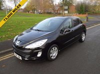 USED 2010 10 PEUGEOT 308 1.6 S 5d 120 BHP 73,000 GUARANTEED MILES - SERVICE HISTORY