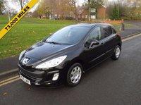 2010 PEUGEOT 308 1.6 S 5d 120 BHP £2999.00