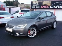 2014 SEAT LEON 1.6 TDI ECOMOTIVE SE TECHNOLOGY 110 BHP TECH PACK £8995.00