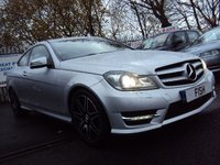 2012 MERCEDES-BENZ C CLASS 2.1 C250 CDI BE AMG SPORT PLUS 2d AUTO 202BHP £12290.00