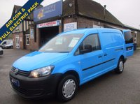2011 VOLKSWAGEN CADDY MAXI WITH AIR-CON & ELECTRIC PACK DIRECT FROM BRITISH GAS  £5595.00