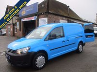 2011 VOLKSWAGEN CADDY MAXI WITH AIR-CON & ELECTRIC PACK DIRECT FROM BRITISH GAS  £5645.00
