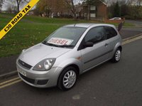 USED 2006 56 FORD FIESTA 1.4 STYLE TDCI 3d 68 BHP £30 ROAD TAX PER YEAR - DIESEL - SERVICE HISTORY