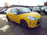 USED 2011 11 CITROEN DS3 1.6 DSPORT 3d 155 BHP SERVICE HISTORY