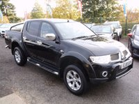 USED 2010 10 MITSUBISHI L200 2.5 DI-D 4X4 BARBARIAN LB DCB 1d AUTO 175 BHP HIGHLY SPECIFIED 4X4 DIESEL / AUTOMATIC TRUCK  WITH EXCELLENT SERVICE HISTORY, EXCELLENT SPEC, DRIVES SUPERBLY, NO VAT !!
