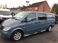 USED 2005 05 MERCEDES-BENZ VITO 2.1 115 CDI EXTRA LONG TRAVELINER LWB 1d 146 BHP