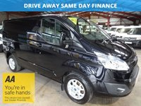 2014 FORD TRANSIT CUSTOM 2.2 270 LIMITED E -TECH LR P/V 125 BHP- ONE OWNER-LOW MILEAGE £13295.00