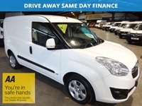 USED 2014 64 VAUXHALL COMBO VAN 1.2 COMBO 2000 L1H1 CDTI SPORTIVE 90 BHP-ONE OWNER-AIR CON  LOW DEPOSIT FINANCE & LEASE DEALS AVAILABLE