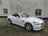 USED 2012 12 MERCEDES-BENZ SLK 1.8 SLK200 BLUEEFFICIENCY AMG SPORT 2d AUTO 184 BHP