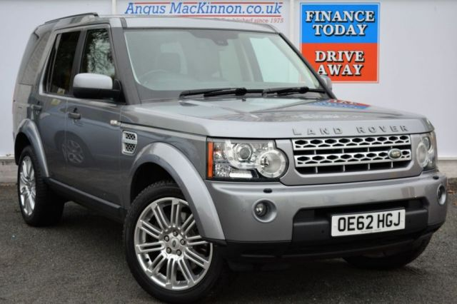 2013 62 LAND ROVER DISCOVERY 3.0 4 SDV6 HSE 5d AUTO 255 BHP