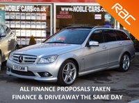 2011 MERCEDES-BENZ C CLASS 2.1 C220 CDI BLUEEFFICIENCY SPORT 5d AUTO 170 BHP £11995.00