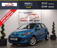 USED 2011 11 MAZDA 2 1.6 D SPORT 5d 94 BHP **HPI CLEAR,, LOW TAX,, CRUISE CONTROL**