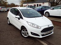 USED 2015 15 FORD FIESTA 1.2 ZETEC 3d 81 BHP FULL Ford Service History