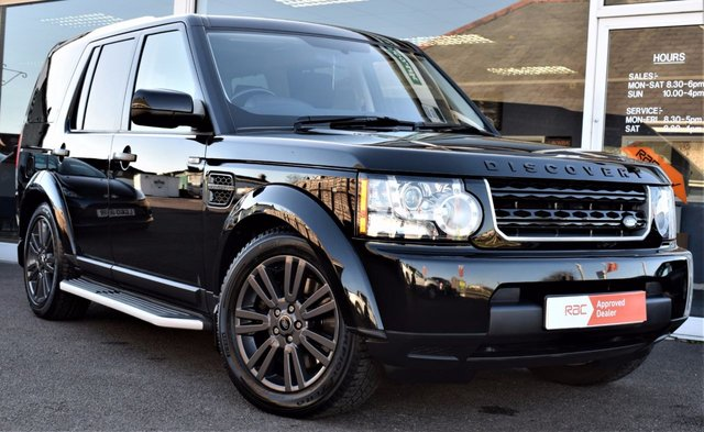 2013 13 LAND ROVER DISCOVERY 4 3.0 4 SDV6 GS 5d AUTO 255 BHP Black Styling Pack