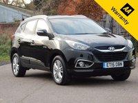 2015 HYUNDAI IX35 1.6 GDI SE BLUE DRIVE 5d 133 BHP £11495.00