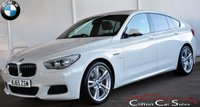 USED 2015 65 BMW 5 SERIES 520D M-SPORT GRAN TURISMO 5 DOOR AUTO 181 BHP Finance? No deposit required and decision in minutes.