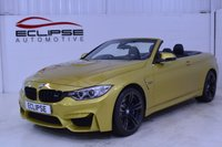 USED 2015 15 BMW 4 SERIES 3.0 M4 2d AUTO 426 BHP Eclipse Automotive are delighted to offer you this highly specified BMW M4 Convertible Auto