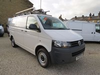 2012 VOLKSWAGEN TRANSPORTER T28 2.0TDI BLUEMOTION TECHNOLOGY 84 BHP SWB VAN WITH TWIN SIDE DOORS £10495.00