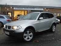 USED 2005 05 BMW X3 2.0 D SPORT 5d 148 BHP GOOD HISTORY+GREAT VALUE