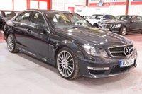 2013 MERCEDES-BENZ C CLASS 6.2 C63 AMG 4d AUTO 457 BHP £26775.00