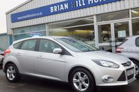 USED 2013 63 FORD FOCUS 1.6 TDCi ZETEC 5dr (113PS) Two owners only.(Originally supplied by us) Full service history. Beautiful condition throughout.