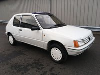 USED 1988 F PEUGEOT 205 1.4 OPEN LIMITED EDITION, CLASSIC COLLECTORS ITEM 1 LADY OWNER, FULL SERVICE HISTORY, VERY RARE!