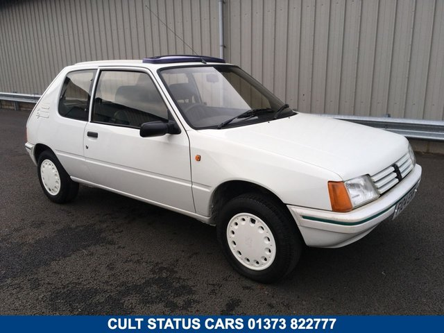 1988 F PEUGEOT 205 1.4 OPEN LIMITED EDITION, CLASSIC COLLECTORS ITEM