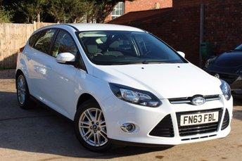 2013 FORD FOCUS 1.6 TITANIUM 5d AUTO 124 BHP £7995.00