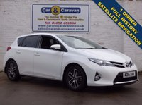 USED 2015 15 TOYOTA AURIS 1.4 D-4D ICON PLUS 5d 90 BHP One Owner Full Service History 0% Deposit Finance Available