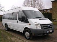 2008 FORD TRANSIT MINIBUS 2.4 430 SHR BUS 17 STR 1d 100 BHP £3995.00