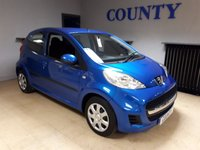 USED 2010 10 PEUGEOT 107 1.0 URBAN 5d 68 BHP * LOW MILES * LONG MOT *