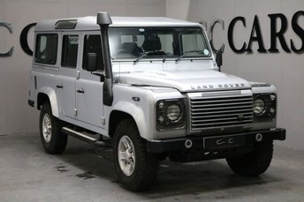 2008 LAND ROVER DEFENDER 2.4 110 XS STATION WAGON 5d 122 BHP £19995.00