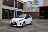 USED 2013 13 TOYOTA YARIS 1.5 T3 HYBRID 5d AUTO CVT 75 BHP AIR CON ECO/EV MODE DIESEL HATCHBACK CAR ONE OWNER S/H SPARE KEY FREE ROAD TAX
