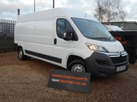 USED 2014 64 CITROEN RELAY 2.2 35 L3H2 ENTERPRISE HDI 5d 130 BHP (NAV) LWB