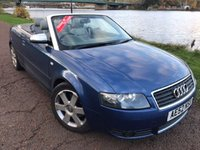 USED 2002 52 AUDI A4 3.0 SPORT 2d 217 BHP **PART EXCHANGE TO CLEAR**