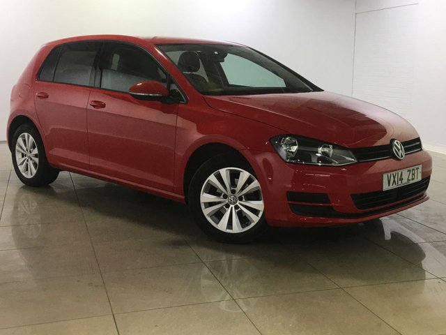 View our 2014 14 VOLKSWAGEN GOLF 1.6 SE TDI BLUEMOTION TECHNOLOGY 5d 103 BHP