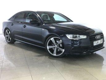 2014 AUDI A6 2.0 TDI ULTRA S LINE BLACK EDITION 4d AUTO 188 BHP £17333.00
