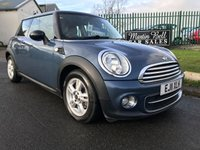 USED 2011 11 MINI HATCH COOPER 1.6 COOPER D chilli free road tax 59000 miles fsh fully serviced very clean car