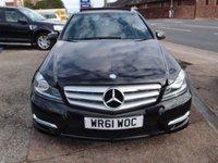 2011 MERCEDES-BENZ C CLASS 2.1 C220 CDI BLUEEFFICIENCY SPORT ED125 4d AUTO 170 BHP £10995.00