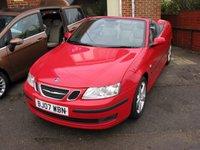 2007 SAAB 9-3 2.0 VECTOR T 2d 150 BHP £4995.00