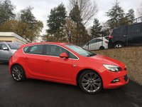 2012 VAUXHALL ASTRA 2.0 SRI VX-LINE CDTI S/S 5d 163 BHP £6995.00