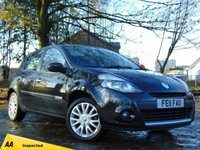 USED 2011 11 RENAULT CLIO 1.5 DYNAMIQUE TOMTOM DCI 5d 88 BHP * 128 POINT AA INSPECTED *