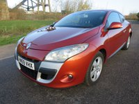USED 2010 59 RENAULT MEGANE 1.6 DYNAMIQUE VVT 2d 110 BHP Good looking car, great colour