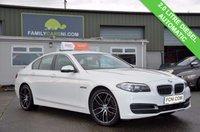 USED 2014 14 BMW 5 SERIES 2.0 518D SE 4d AUTO 141 BHP FULL LEATHER INTERIOR