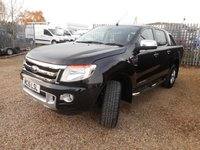 USED 2015 15 FORD RANGER 2.2 LIMITED 4X4 DCB TDCI 4d AUTO 150 BHP